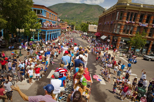 fourth of july aspen