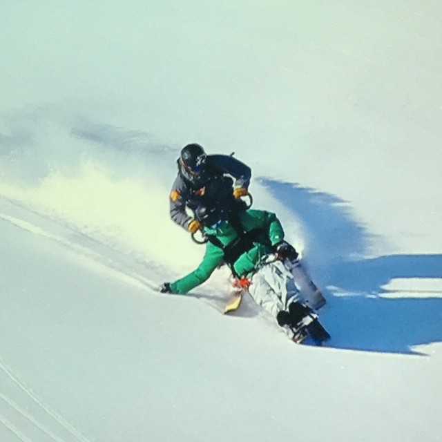 "Tony Schmiesing shredding the Chugach, from ""The Edge of Impossible"""