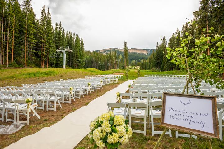 Elk Camp Wedding