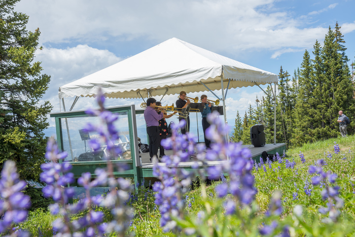 Live Music on Aspen Mountain