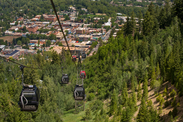 Aspen Mountain Gondola - Summer