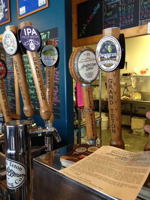 Image courtesy of Grand Teton Brewery