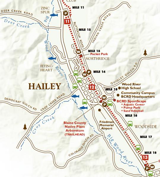 Wood River Bike Path Hailey