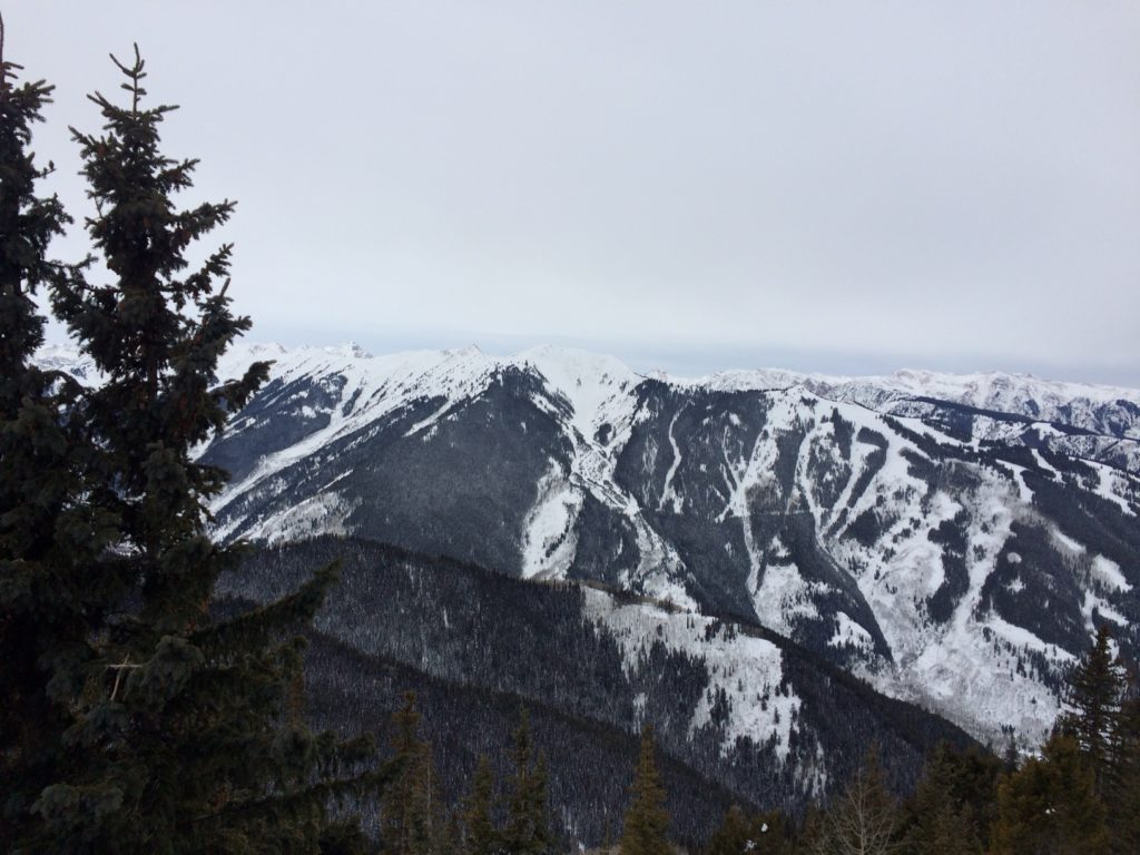 Top of Aspen Mountain, Looking Towards Highland Peak