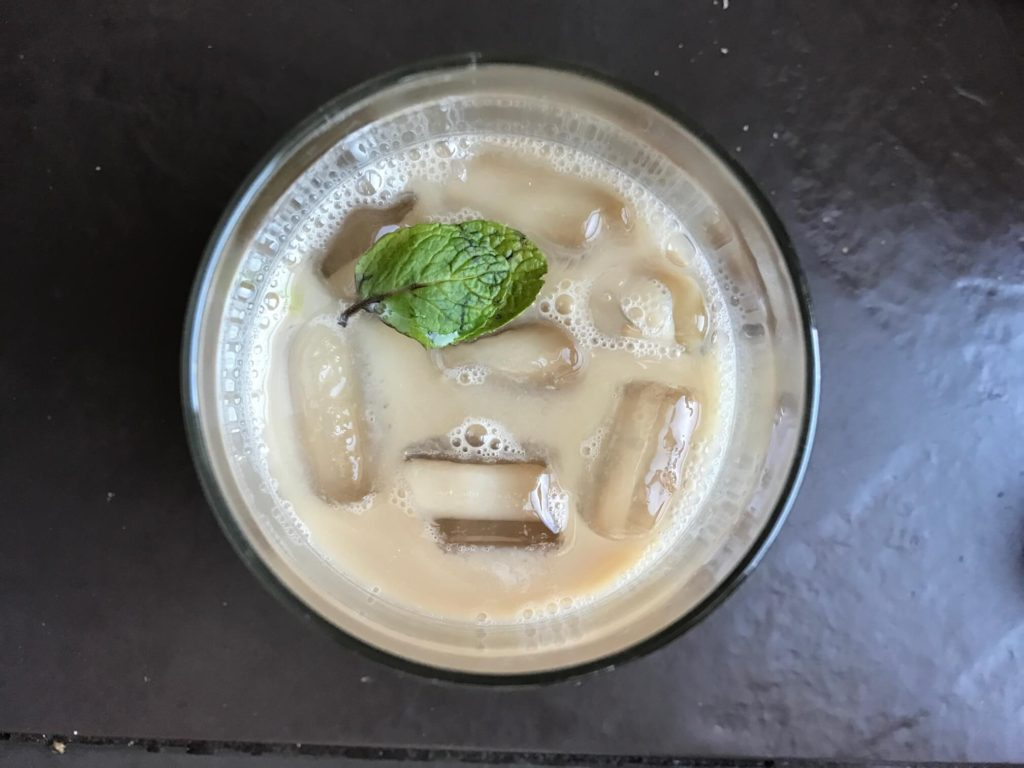 Minty White Russian