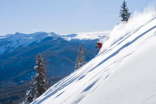 Backcountry Skiing in Aspen