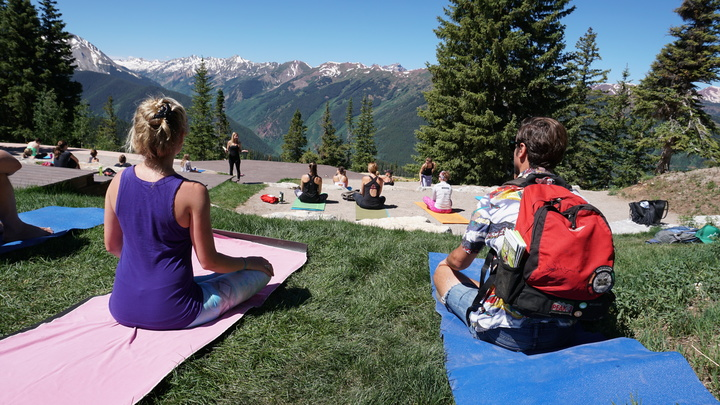 Yoga Aspen Mountain