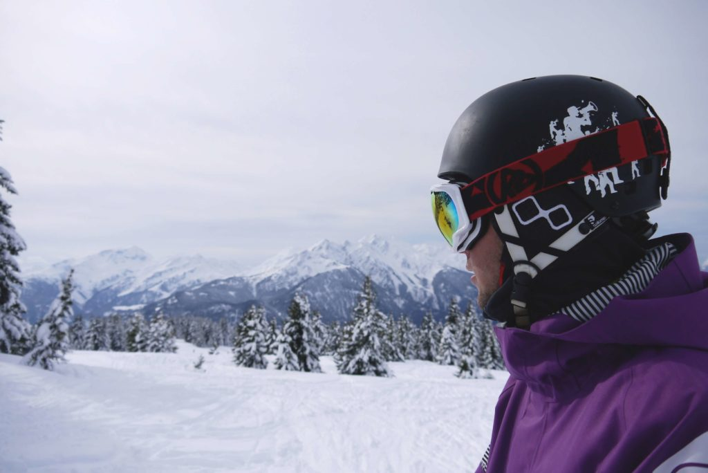 Ski Gear- Goggle helmet
