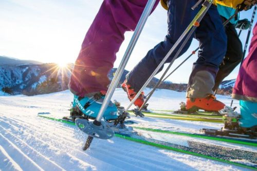 Why Try uphill skiing