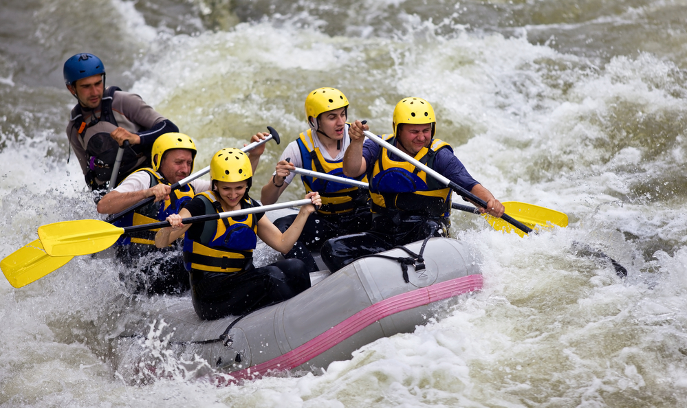 Whitewater rafting aspen