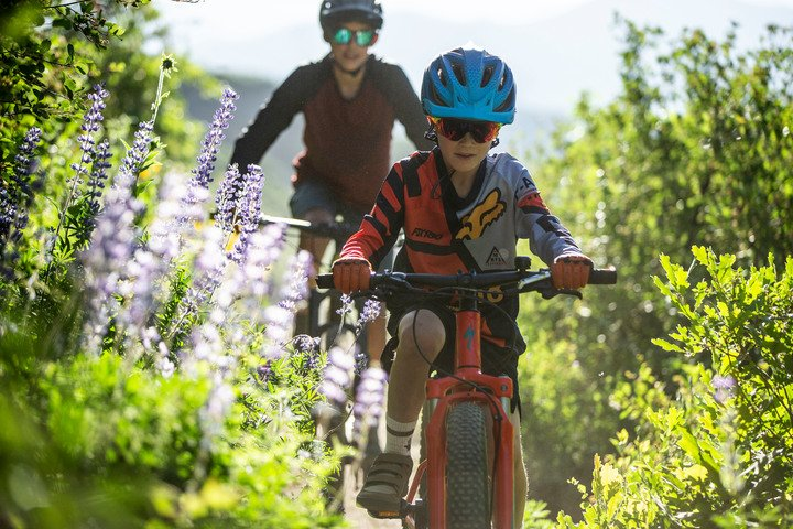 ketchum kids mountain biking